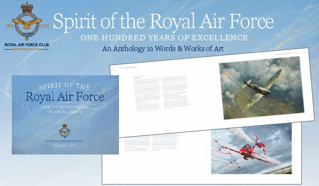 Spirit of the RAF Book: An Anthology in Words & Works of Art