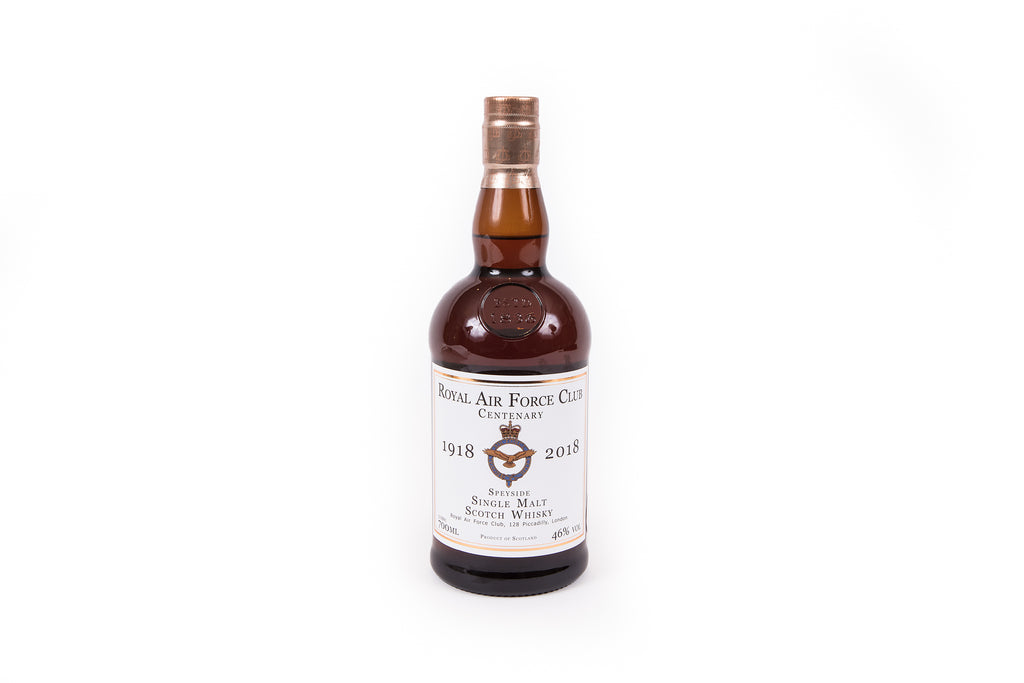 Royal Air Force Club Centenary Whisky