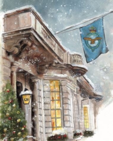 Royal Air Force Club 2020 Christmas Card - 128 Piccadilly (Pack of 10)