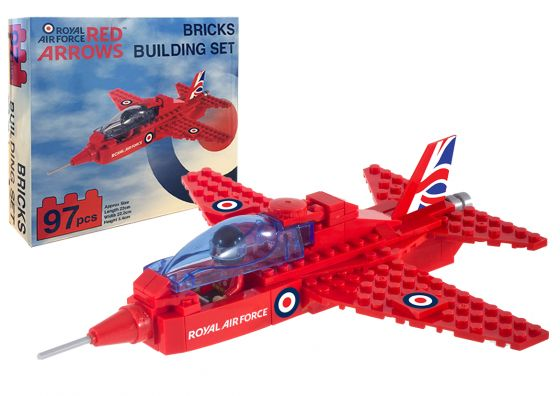 Red Arrow Brick Building Set