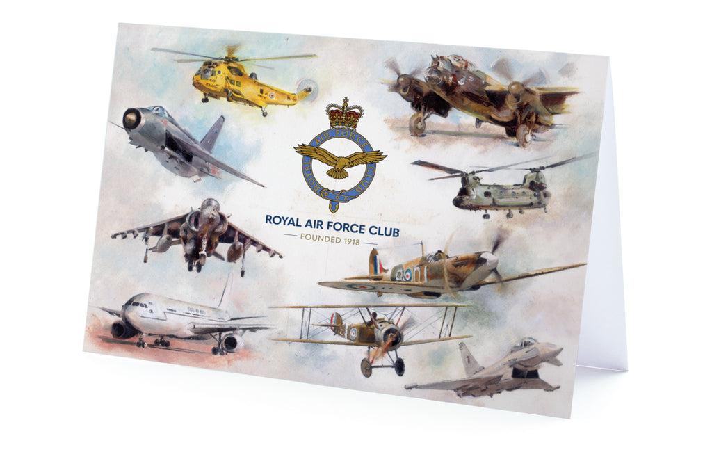 'Aircraft' Greeting Card