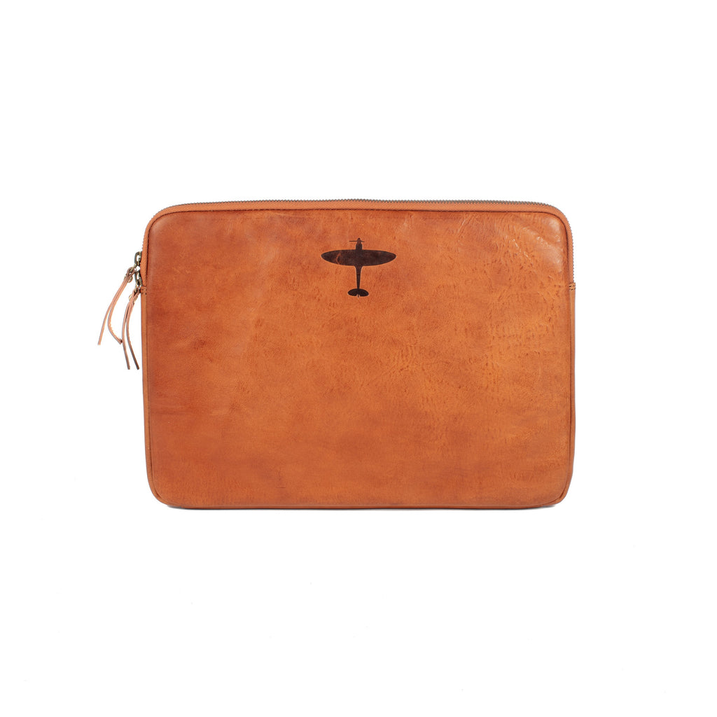 Spitfire Leather Laptop Sleeve