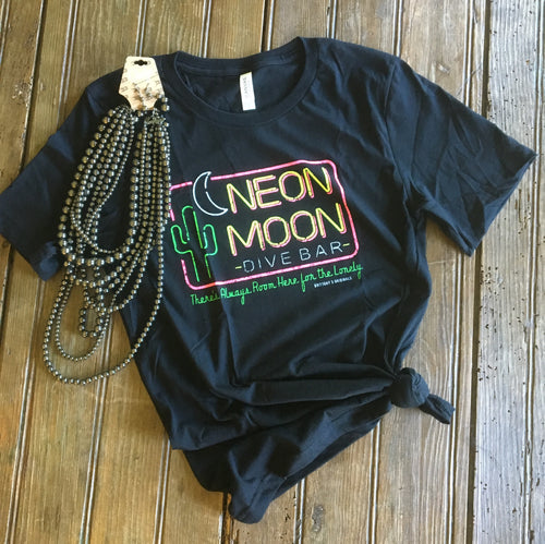 Neon Moon Tee - Wild Plains