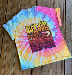 Outlaw Music Festival Crop Tee - Wild Plains