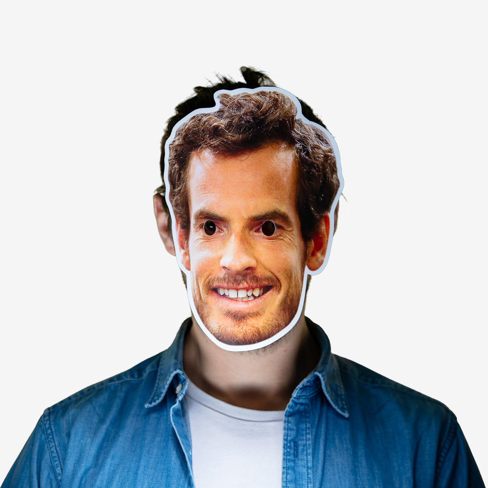 Masque déguisement Andy Murray
