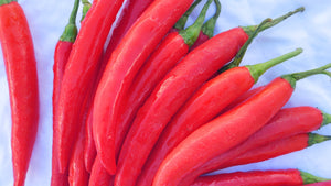 Long Red Chillis