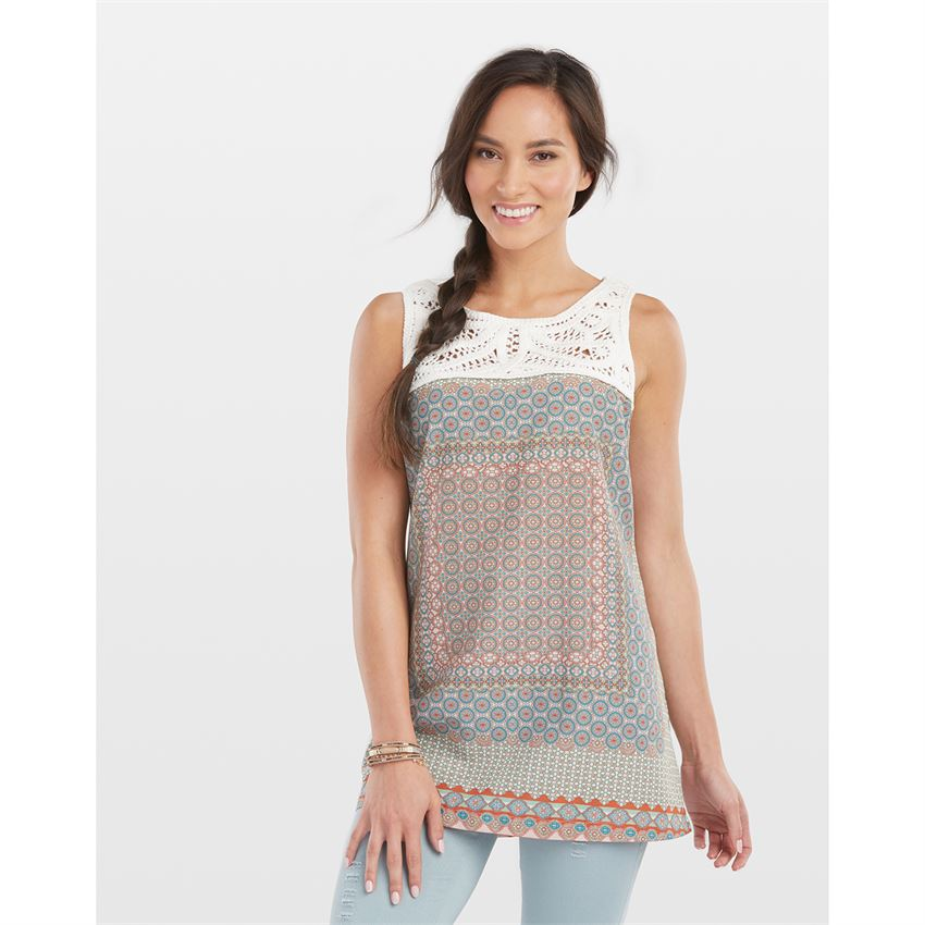 Coco and Carmen Boho Top