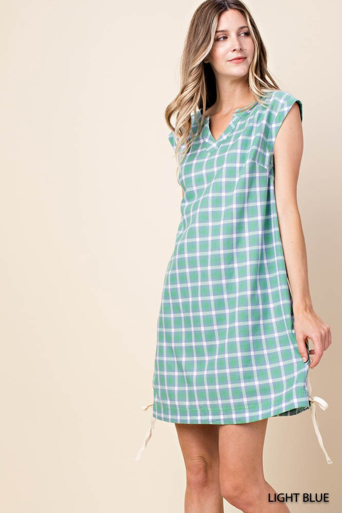 Plaid Summer Dress