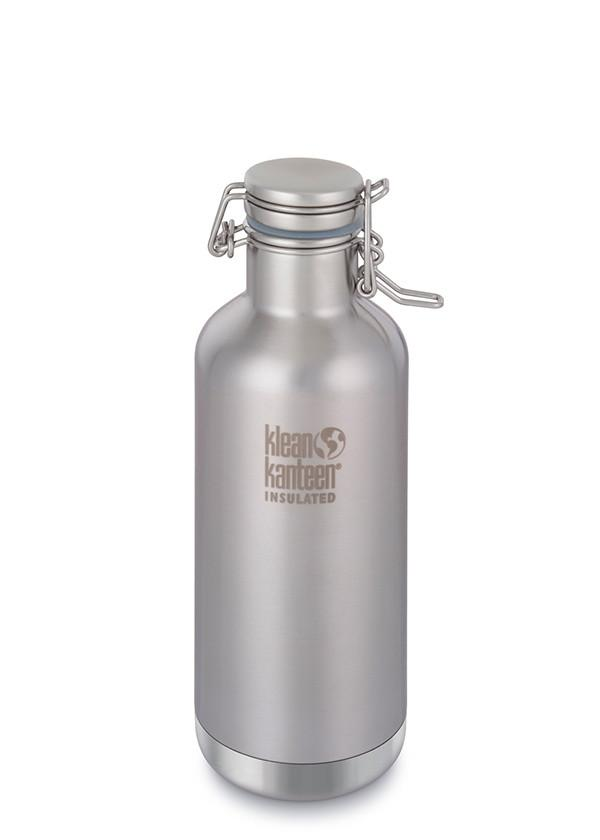 Klean Kanteen Insulated Growler in 32oz Brushed Stainless Steel Color