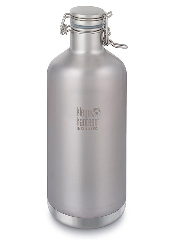 Klean Kanteen Insulated Growler in 64oz Brushed Stainless Steel Color