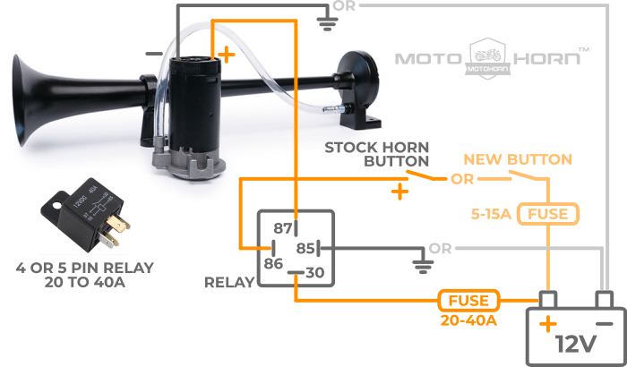 Motorcycle Horn Wiring Diagram from cdn.shopify.com