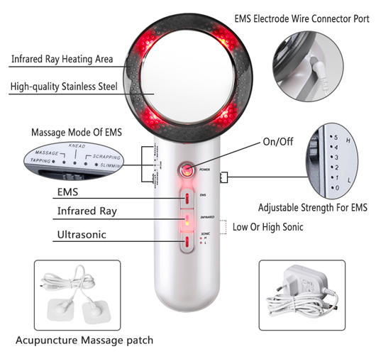 Infrared Slimming Massager