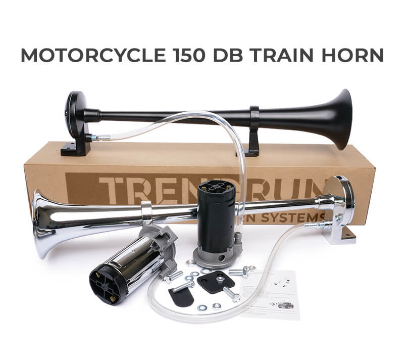 Motorcycle 150 dB Train Horn
