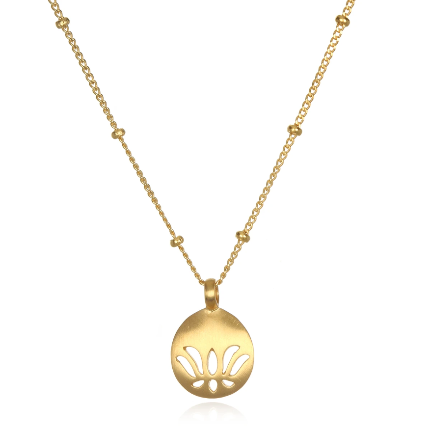Satya Jewelry • Begin Today Lotus Kette
