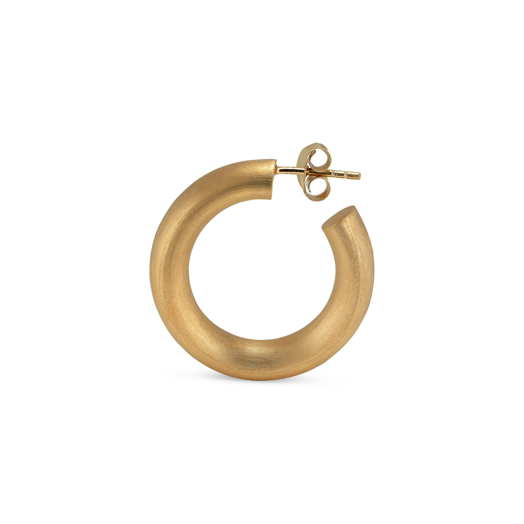 Jane Kønig • Chunky Hoops in Gold