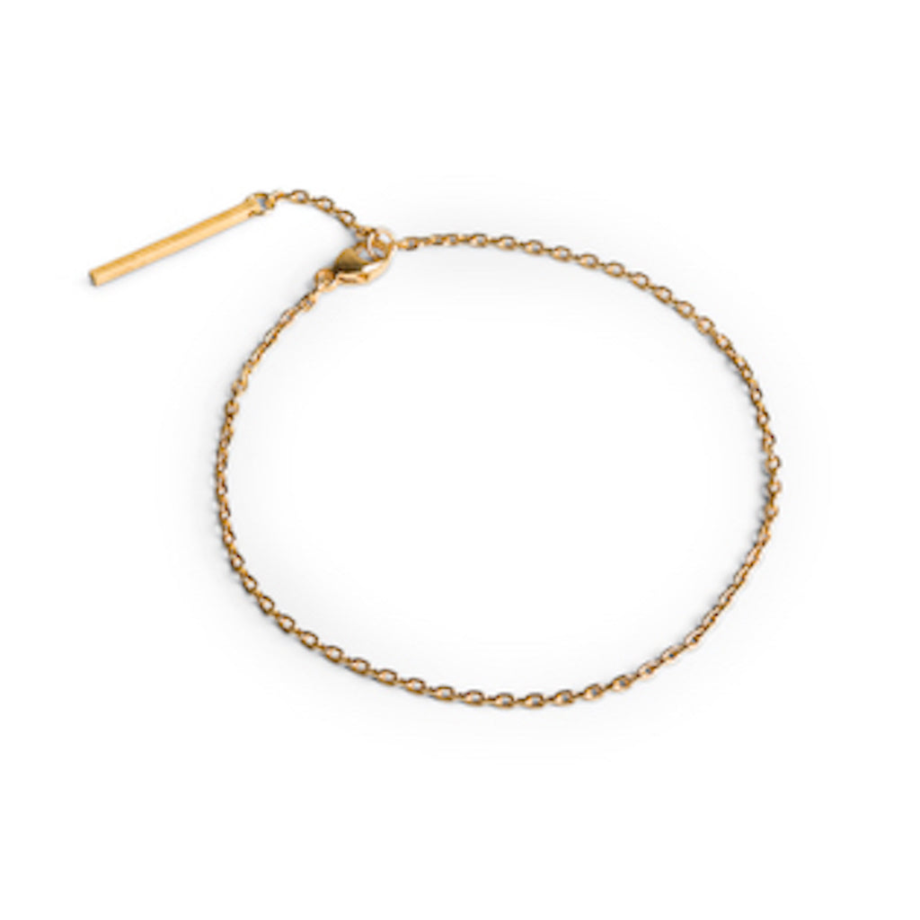 Jane Kønig • Ankerkettenarmband in Gold