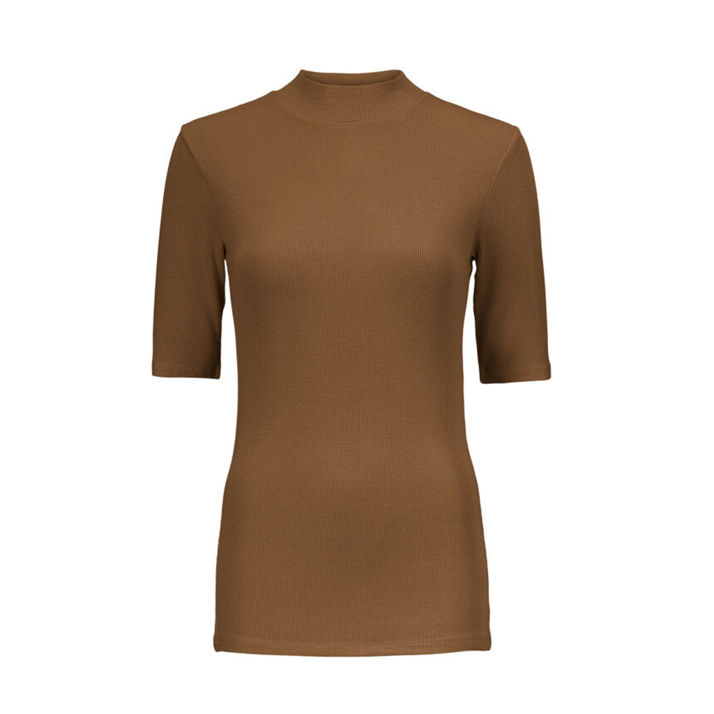 Modström • Krown T-Shirt Warm Camel