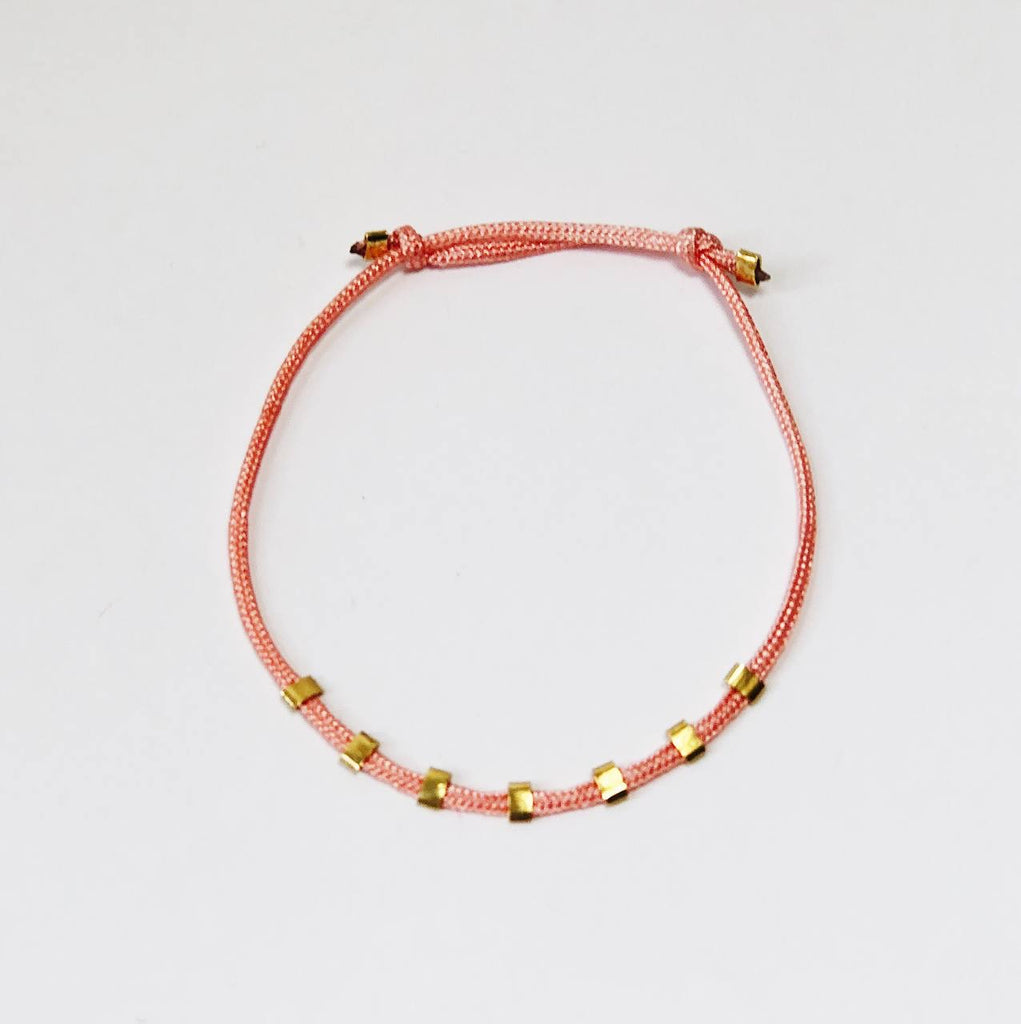 VAN NORD • Armband Orange Gold