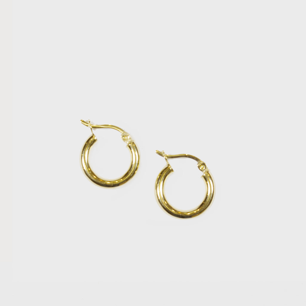 VAN NORD • Chunky Creole Extra Small 15 mm Gold