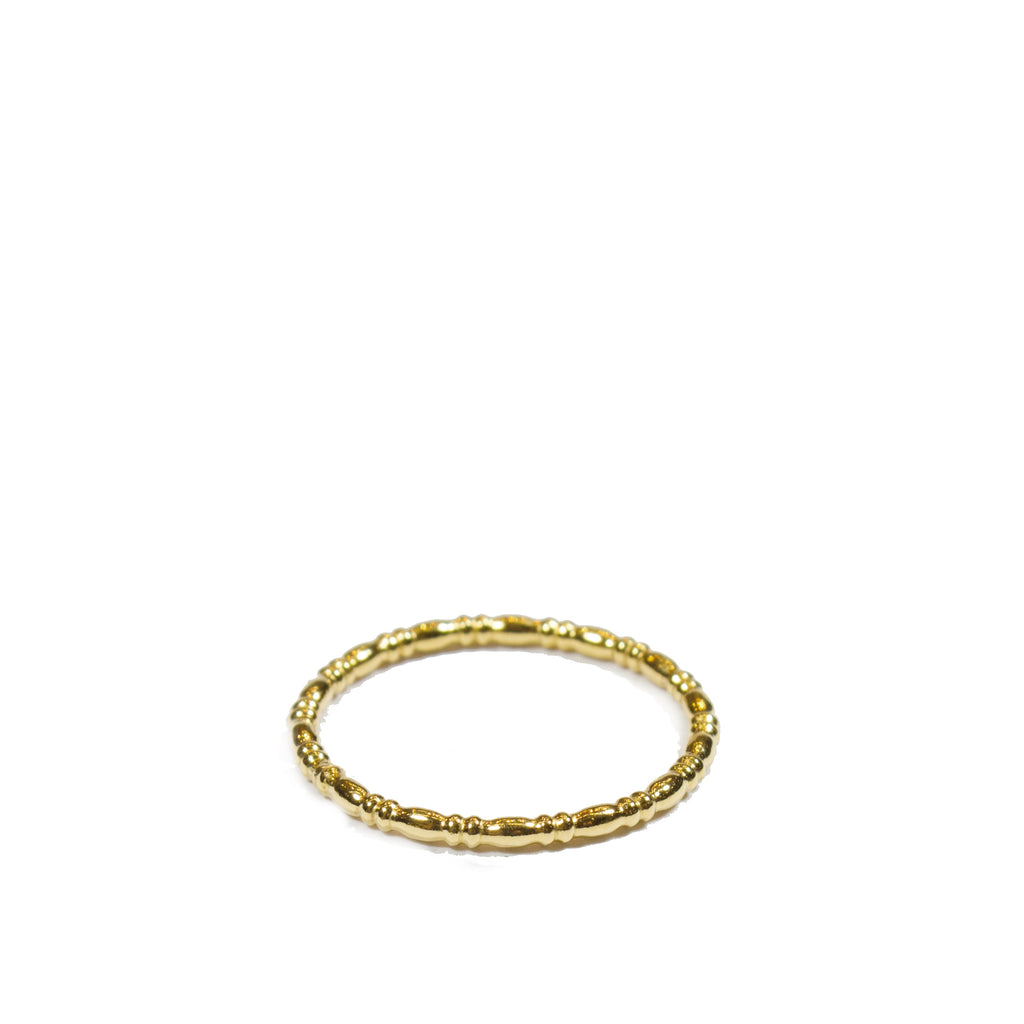 VAN NORD • Rundstab Ring Gold