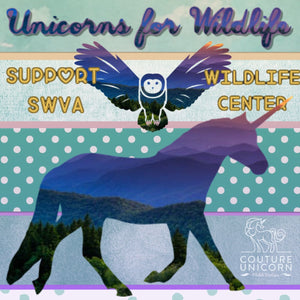 "Couture Unicorn launches ""Unicorns for Wildlife"" in support of SWVA Wildlife Center"