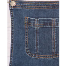 Denim Tomgirl Cuffed Short Overall