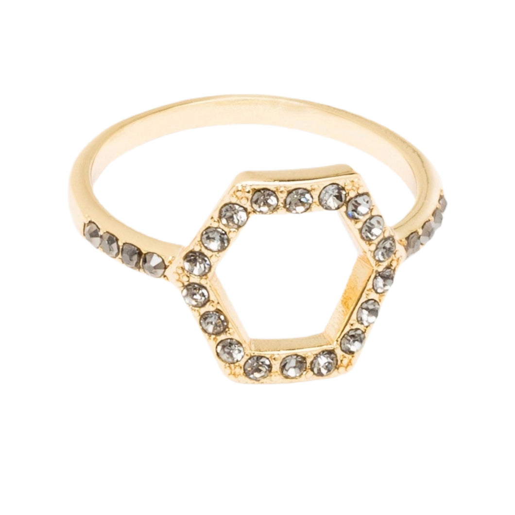 Rebecca Minkoff Hexagon Ring