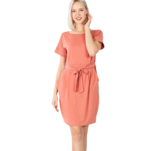 Ash Rose Pocket dress