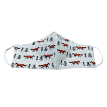 Fox Print Cotton Mask