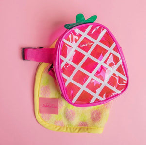 Makeup Eraser - Pineapple Print with Bonus Bag