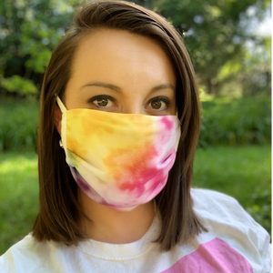 Reusable Cotton Mask - Multiple Colors