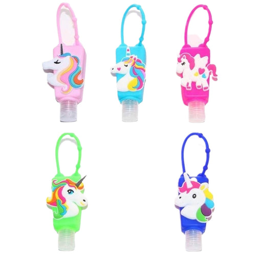 Unicorn Hand Sanitizer +Holder