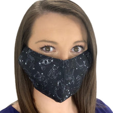 Celestial Print Cotton Mask