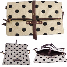 Black Polka Dot Bag