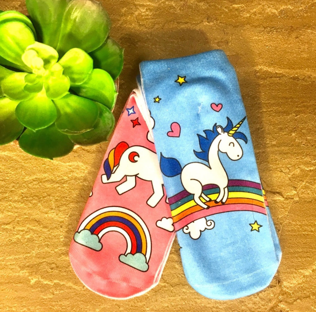 Rainbow Unicorn sock set