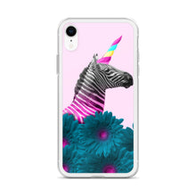 Rainbow Unicorn Zebra iPhone Case