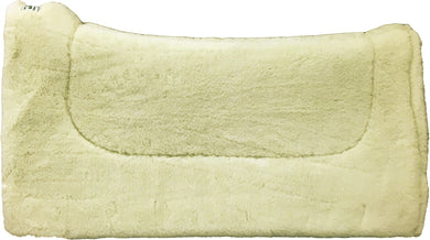 Contoured Wool Fleece Liner Pad