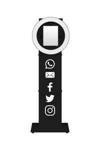 White Social Sharing Icons