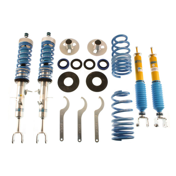 Bilstein 48-146142 B16 Front and Rear Performance Suspension System - 2003-2008 Nissan 350Z on Bleeding Tarmac