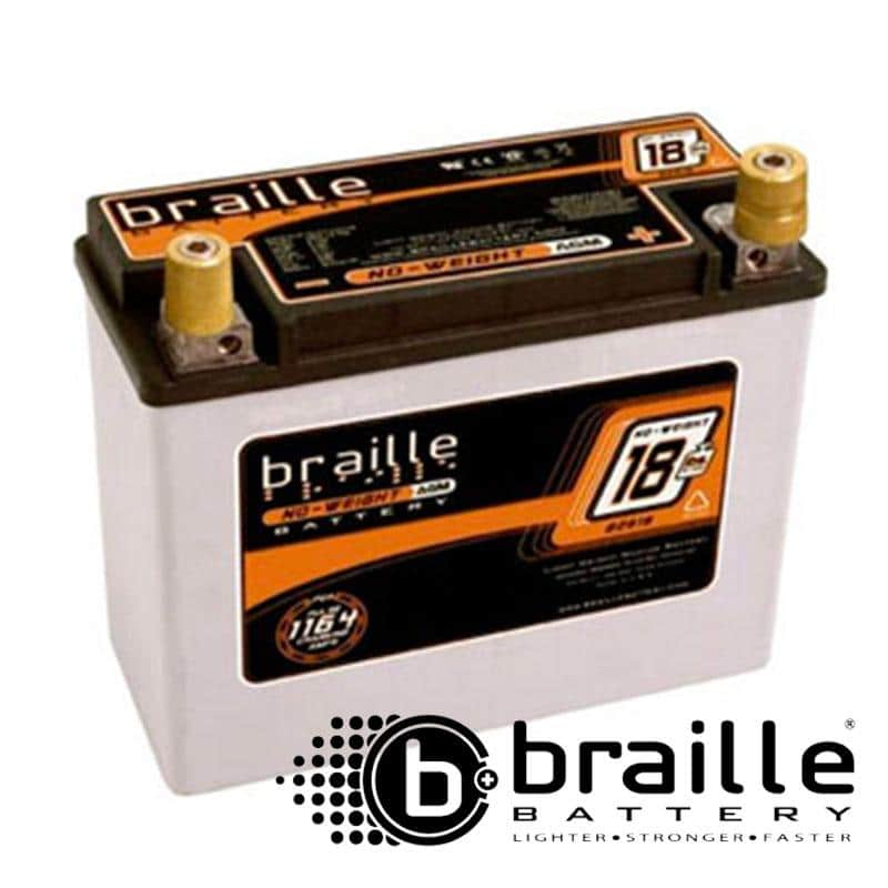 Braille Battery - Advanced AGM Technology 18 lb B2618 B2618 Default Title on Bleeding Tarmac