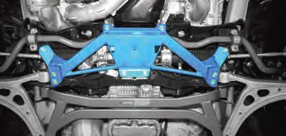 Cusco - Power Braces - Subaru BRZ WRX STi cus672 492 C UnderSide Center Impreza GD on Bleeding Tarmac
