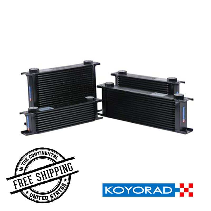 Koyorad - 10 Row Oil Coolers - Universal XC101103W Default Title on Bleeding Tarmac