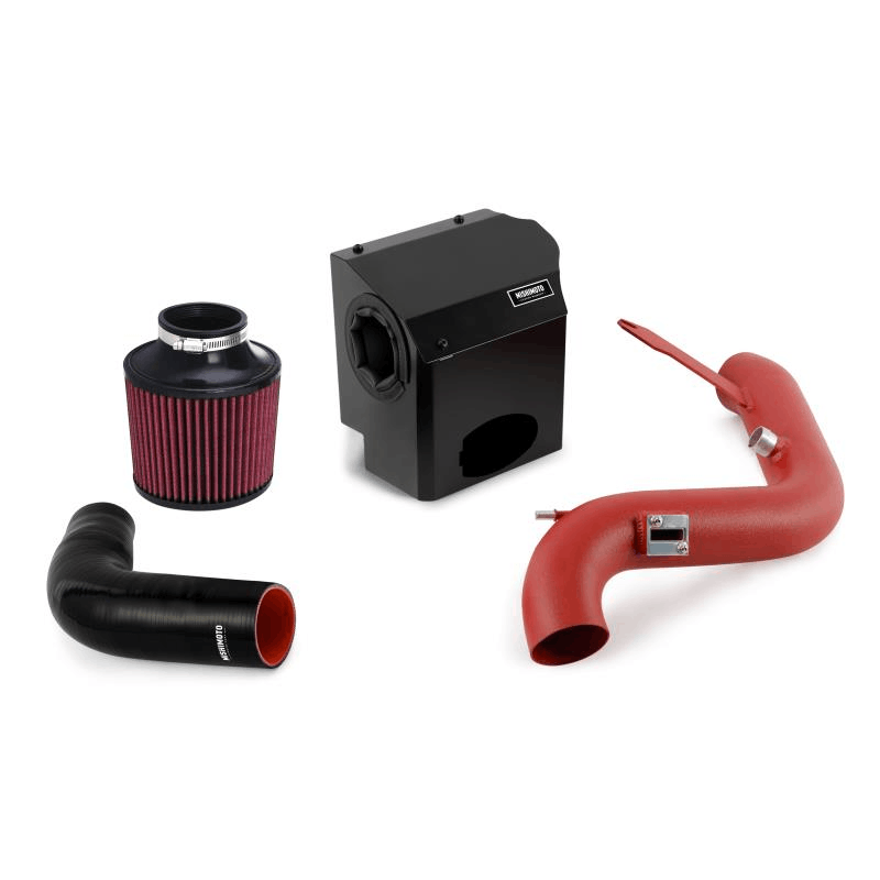 Mishimoto - Performance Air Intake - 14-15 Ford Fiesta ST misMMAI-FIST-14WRD Red on Bleeding Tarmac