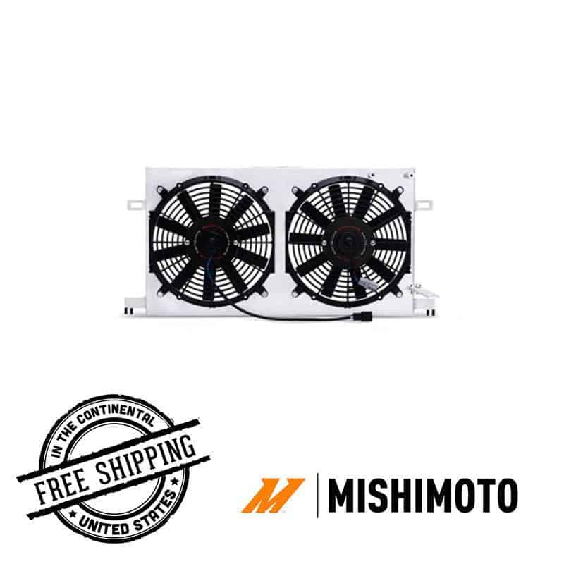Mishimoto - Plug-N-Play Performance Aluminum Fan Shroud Kit - 13+ Subaru BRZ misMMFS-BRZ-13P Default Title on Bleeding Tarmac
