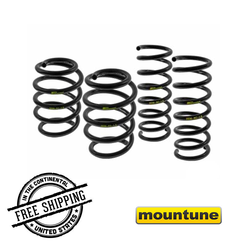 Mountune 2536-MSK-RS1 Sport Spring Set for Ford Focus RS 2016-2018 on Bleeding Tarmac