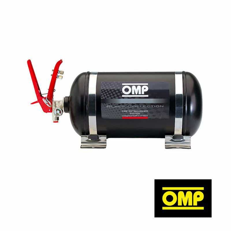 OMP - Fire Suppression - 4.25L Mechanical Trigger Steel Bottle CMSST1 Fire System - Black Collection CMSST1 Default Title on Bleeding Tarmac