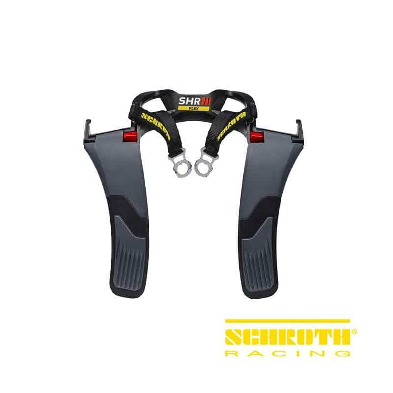 Schroth Racing Belts - HNR Device - SHR Flex - Medium 42602 Includes tethers, anchors and pads on Bleeding Tarmac