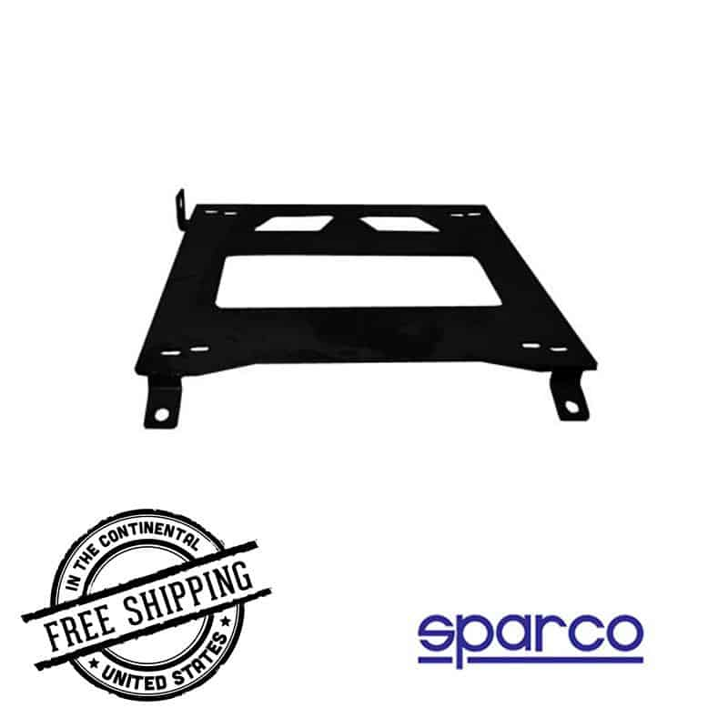 Sparco - Low Seat Base - 03-08 Nissan 350Z spa600SB015R Right on Bleeding Tarmac