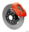 Wilwood 140-9193-R Dynapro Radial Big Brake Front Brake Kit (Hat) - Red - 1997-2017 Subaru WRX (*Line Kit Needed*) on Bleeding Tarmac