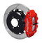 Wilwood 140-12871-R Forged Narrow Superlite 4R Big Brake Rear Kit For OE Parking Brake -  Red - Subaru BRZ on Bleeding Tarmac